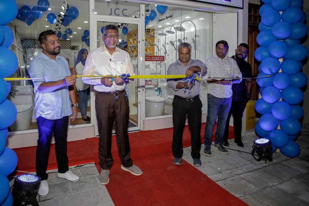 JCC opens new showroom in Hulhumale' - Jaah Maldives Pvt Ltd